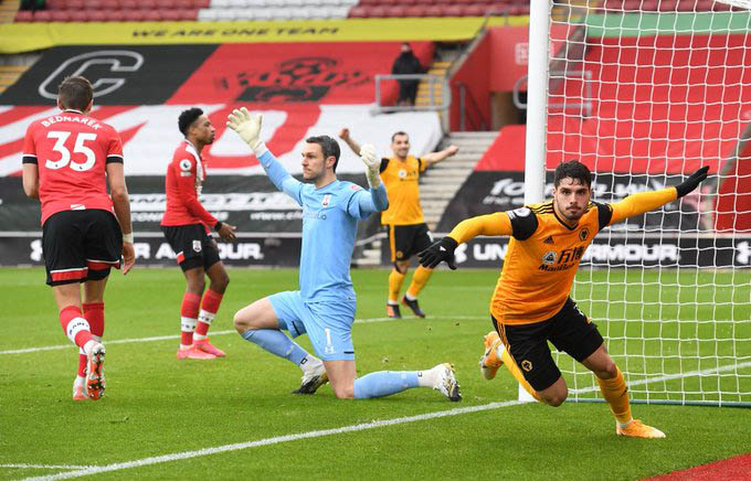 Pedro Neto plays well in the Wolves