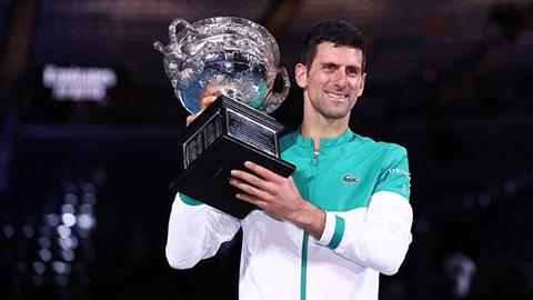 Novak Djokovic vô địch Úc mở rộng 2021: Hành trình vĩ đại