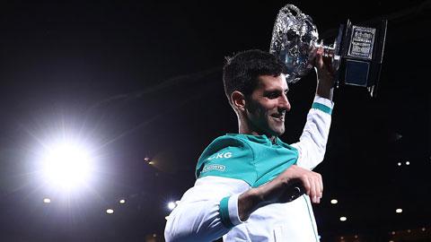 Novak Djokovic vô địch Úc mở rộng 2021