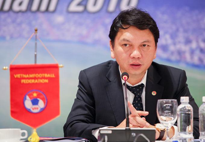 Tổng thư ký VFF - Lê Hoài Anh chia sẻ thêm thông tin về hợp đồng của HLV Park Hang Seo