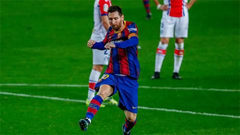 Messi chỉ có 8 đối thủ chưa thể xé lưới trong sự nghiệp