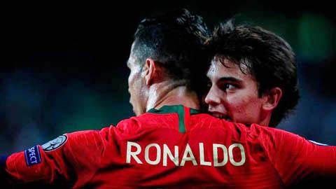 Joao Felix: Ronaldo là quân sư riêng, đặc biệt khen số 19 của Chelsea