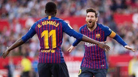 Messi và đồng đội sẽ dội mưa gôn vào lưới đối thủ