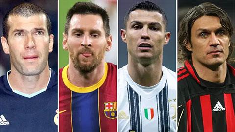 Đội hình vĩ đại nhất Champions League do fan bình chọn