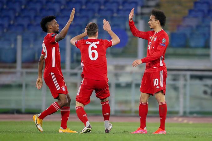 Sau 2 trận không thắng ở Bundesliga, Bayern đã tìm lại cảm hứng tại Champions League