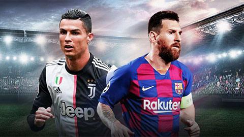 Cuộc đua giành Giày vàng châu Âu: Messi lại bắt kịp Ronaldo