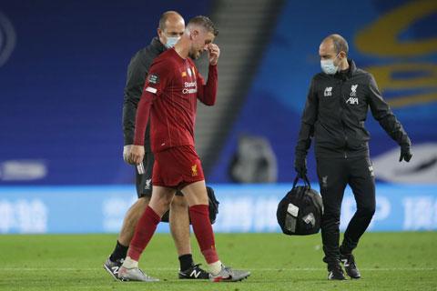 Henderson dính chấn thương háng trong trận gặp Everton hôm 21/2 vừa qua