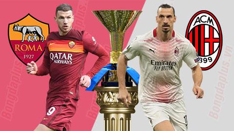 Nhận định bóng đá AS Roma vs AC Milan, 02h45 ngày 1/3