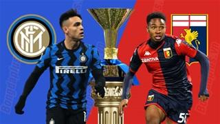 21h00 ngày 28/2: Inter vs Genoa