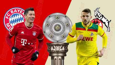 Nhận định bóng đá Bayern vs Cologne, 21h30 ngày 27/2: Hùm xám háu đói