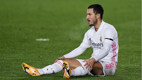 Việc thường xuyên chấn thương có thể khiến tương lai của Hazard tại Real sớm chấm dứt