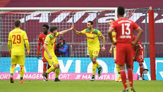 Cologne chỉ ghi 1 bàn nhưng lọt lưới đến 5 quả