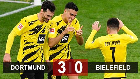 Dortmund 4-0 Bielefeld: Hủy diệt Bielefeld, Dortmund hâm nóng đại chiến với Bayern ở vòng tới