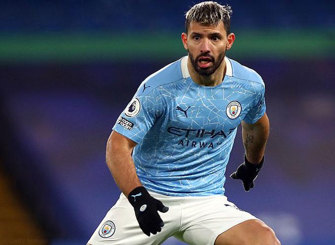 Aguero không ra sân nhiều mùa này nhưng hàng công Man City vẫn ổn