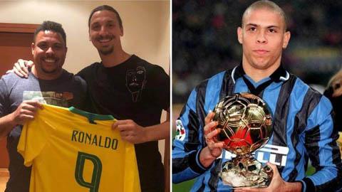 Ronaldo béo, thần tượng trong những giấc mơ của Ibrahimovic