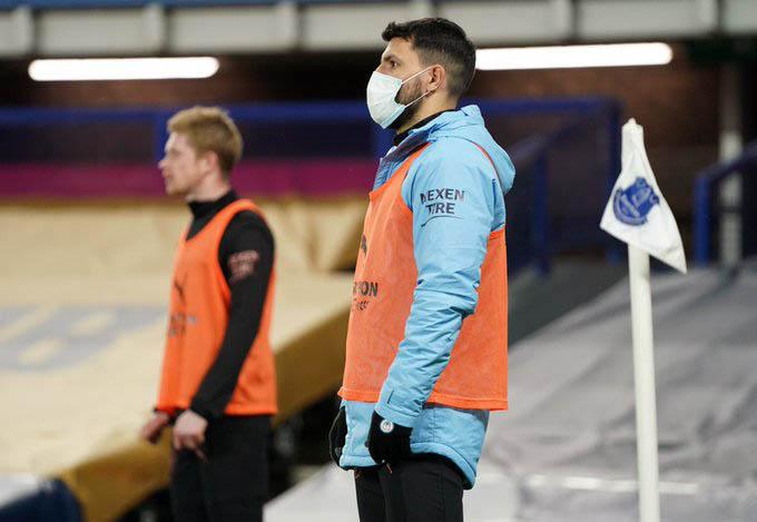 Aguero đã chơi không tốt sau thời gian dài nghỉ thi đấu