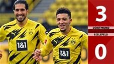 Dortmund vs Bielefeld: 3-0 (Vòng 23 Bundesliga 2020/21)