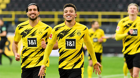 Sancho 2 tuần liên tiếp lập những cột mốc lịch sử tại Bundesliga