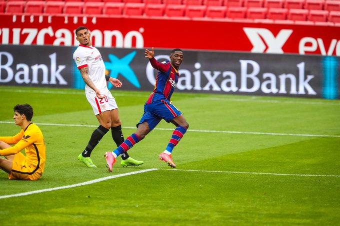 Dembele khai thông bế tắc cho Barca