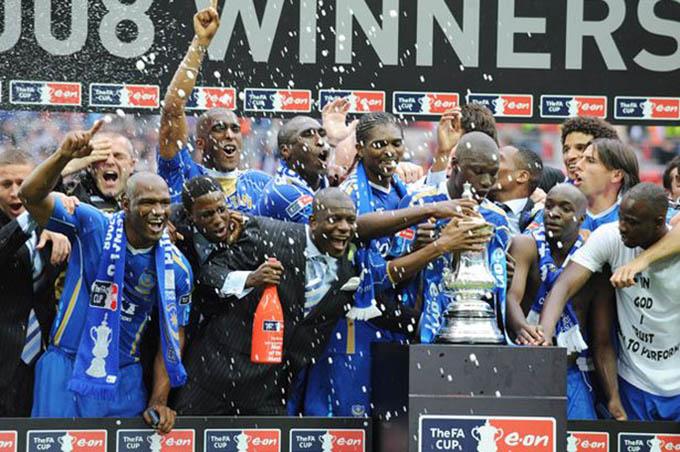 Portsmouth từng vô địch FA Cup 2008