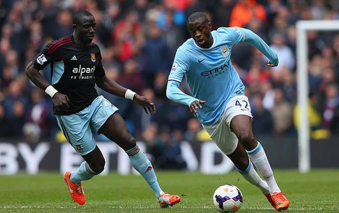 Yaya Toure từng là một trong những tiền vệ hay nhất Ngoại hạng Anh