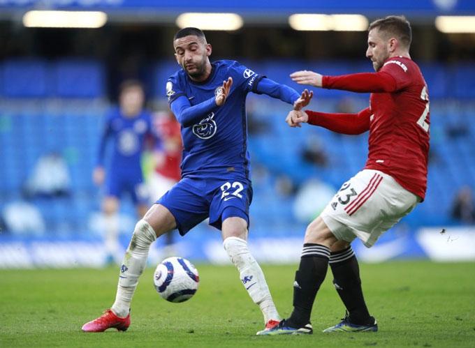 Ziyech nói riêng và các tân binh tấn công nói chung của Chelsea thi đấu chưa tốt