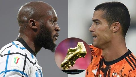 Lukaku chẳng quan tâm đua Vua phá lưới với Ronaldo