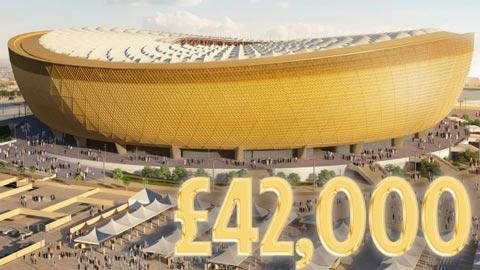 Giá vé chung kết World Cup 2022 được công bố với mức cực sốc