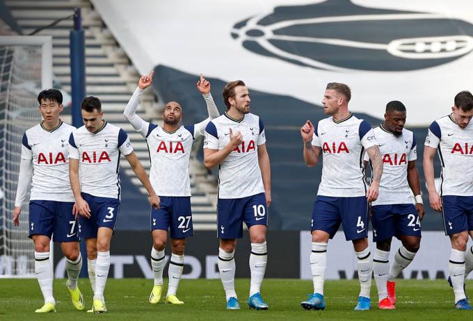 Tottenham đã có chiến thắng dễ dàng trước Burnley