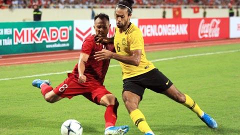 HLV Malaysia thở phào trước cuộc đối đầu với thầy Park