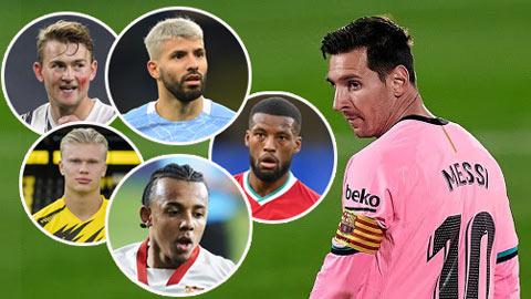 Barca cần mua 5 ngôi sao để thuyết phục Messi ở lại