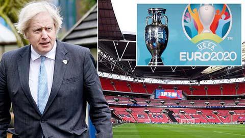 Nước Anh lạc quan về cơ hội tổ chức EURO 2020