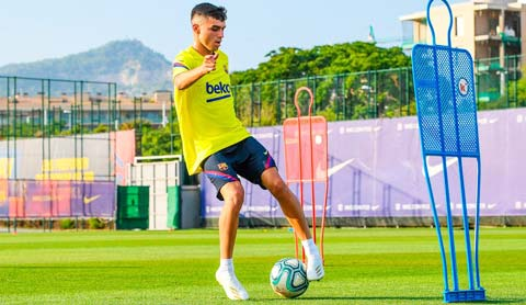 Pedri đã chơi 37/38 trận của Barca ở mọi đấu trường mùa này, nhiều nhất đội