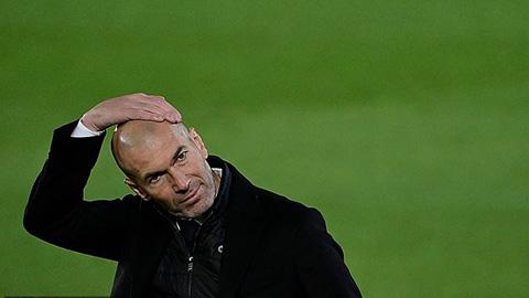 HLV Zidane đau đầu trong việc giải quyết tương lai của Bale