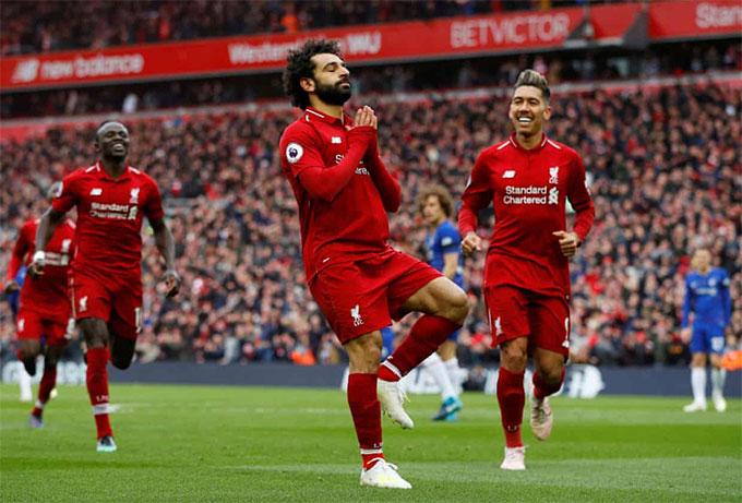 Salah từng không ít lần chọc thủng lưới Chelsea