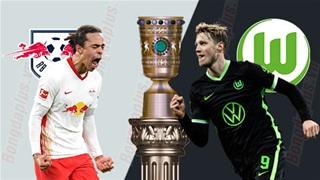 02h45 ngày 4/3: Leipzig vs Wolfsburg