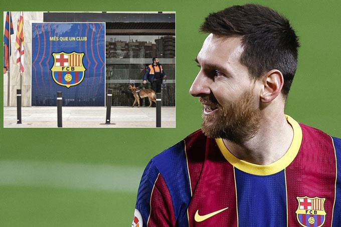 Messi gần như sẽ rời Barca vào cuối mùa này khi CLB đã quá nát