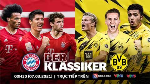 Bayern vs Dortmund: Những con số đáng chú ý xoay quanh Der Klassiker