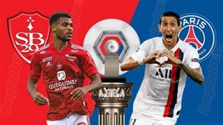 03h10 ngày 7/3: Brest vs PSG