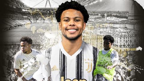 Juventus mua đứt sao trẻ người Mỹ với giá 18,5 triệu euro