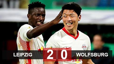 Sao Hàn Quốc tỏa sáng, Leipzig vào bán kết Cúp QG Đức