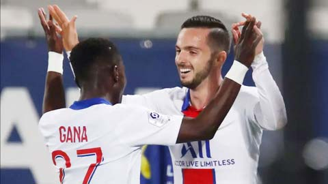 PSG vẫn thắng dù thiếu Neymar, Mbappe & Di Maria