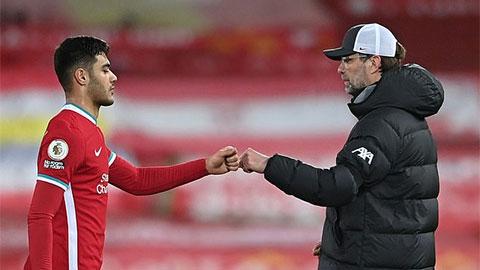 HLV Klopp xác nhận Kabak nguy cơ lỡ trận Liverpool vs Fulham vì chấn thương