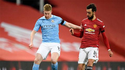 Nếu hạ MU ở Derby Manchester, Man City còn cách kỷ lục thắng liên tiếp mấy trận?