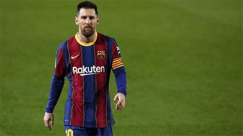 Messi gây gổ với Monchi trong đường hầm