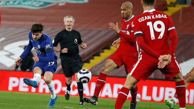 Mount ghi bàn duy nhất mang về chiến thắng cho Chelsea