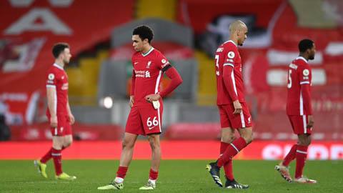 Liverpool lập kỷ lục tệ hại sau trận thua Chelsea