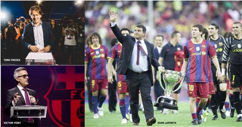 Thành công trong 7 năm lãnh đạo Barca biến Laporta thành ứng viên nặng ký cho chức chủ tịch nhiệm kỳ mới