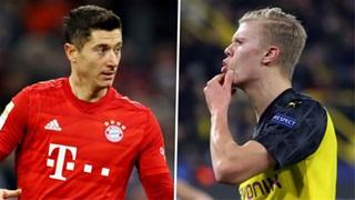Lewandowski vs Haaland: Đại chiến 'rồng lửa'