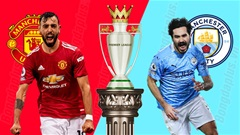23h30 ngày 7/3: Man City vs MU